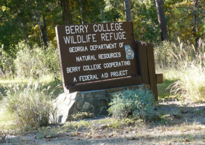 Berry College Mitigation Bank, Floyd/Chattooga Counties, GA